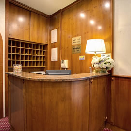 Hotel Galeno Rome - Reception